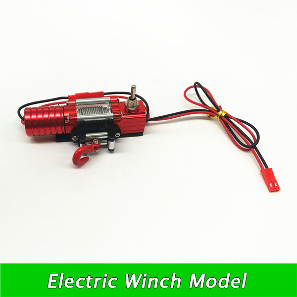 Free Shipping RC Crawler Truck Electric Winch Model Spare Parts For RC Crawler Car free shipping yacht winch boat winch barge winch 12v 2000lb electric winch