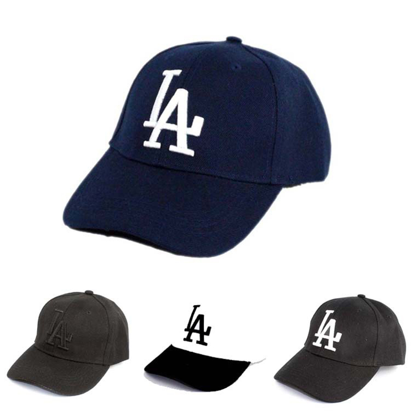 XaYbZc 2019 New letter Baseball Caps LA Dodgers Embroidery Hip Hop bone Adjustable