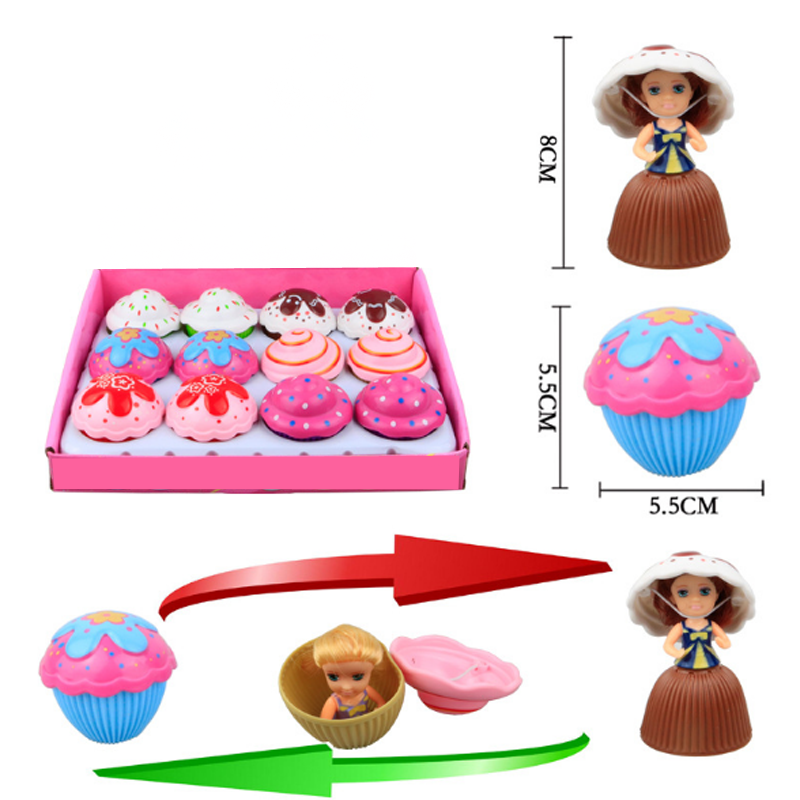 1pc Fashion Surprise Doll Kids DIY Doll Toy for Children Girls Mini Dolls Accessories Educational Girl Toys Funny Birthday Gifts