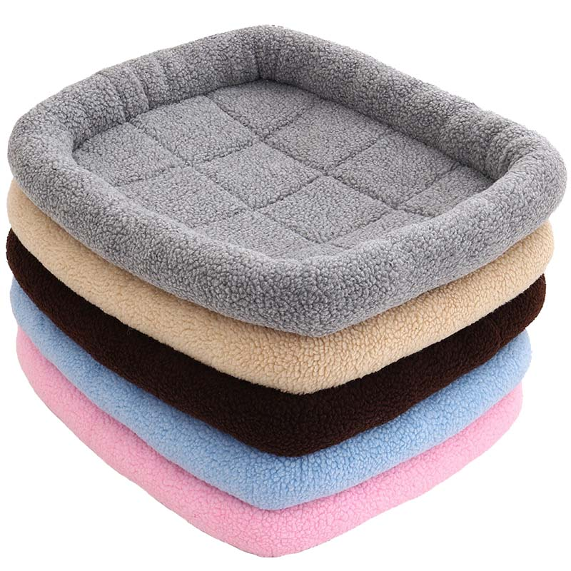 1 Pcs Pet Dog Puppy Cat Nest Bed Warm Soft Comfortable Durable For Sleeping Winter Hot Sale in Houses Kennels Pens from Home Garden