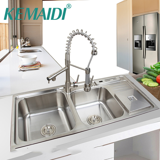 Double Sink Kitchen Faucet Car Design Today