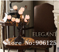 Modern LED Table Lamp Rural Style Cherry Flower Table Lamp Desk Lamp Bedside Light Lighting +Free shipping!