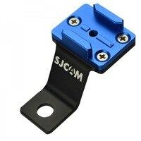 ¡Accesorios de SJCAM Motocycyle soporte de montaje (cuadrado) para SJCAM Cámara SJ4000 SJ5000X M10 deporte Wifi Cam envío gratis!