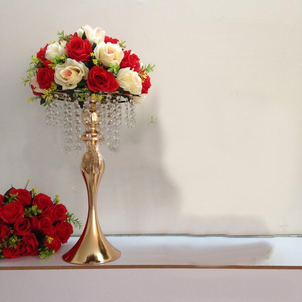 2017 Wedding Bouquet Flower Ball Centerpieces decoration Flower Vase ...