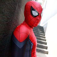 Spider Man Far From Home Superhero Costume Zentai Spandex Spiderman Cosplay Superhero Bodysuit Halloween Costume for Kids/Adult