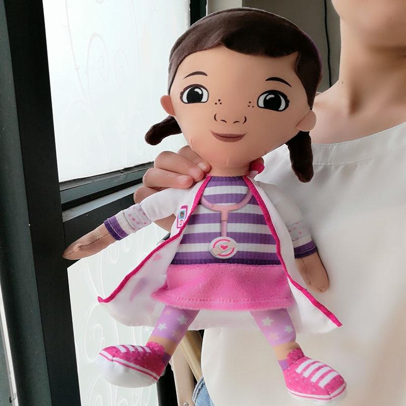 Original Doc Mcstuffins Toys 30CM=12 Doc Mcstuffins Plush Dolls Dottie Girl for Baby Kids Children Gift