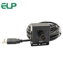 ELP Бесплатная драйвер 5MP 100 градусов без искажения объектива Aptina MI5100 камера cctv с датчиком USB видеокамера с Корпусная коробка