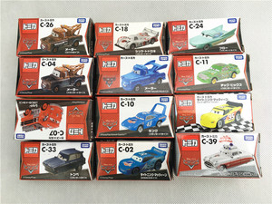 Tomy Tomica Disney Pixar Cars Sheriff/King/Flo/Sally/Chick Hicks/Mater/Doc Hudson Metal Diecast Toy Car New New in Box(China)