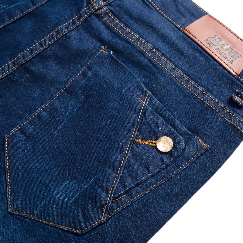 Jeans Mannen 2017 Nieuwe Mode Koreaanse Stijl Hoge Straat Slim Fit - Herenkleding - Foto 6