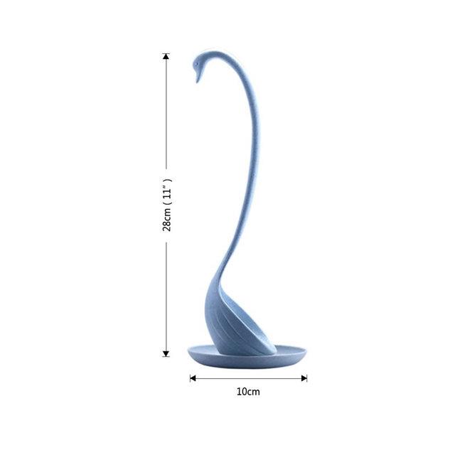 Creative Swan Shaped Long Ladle