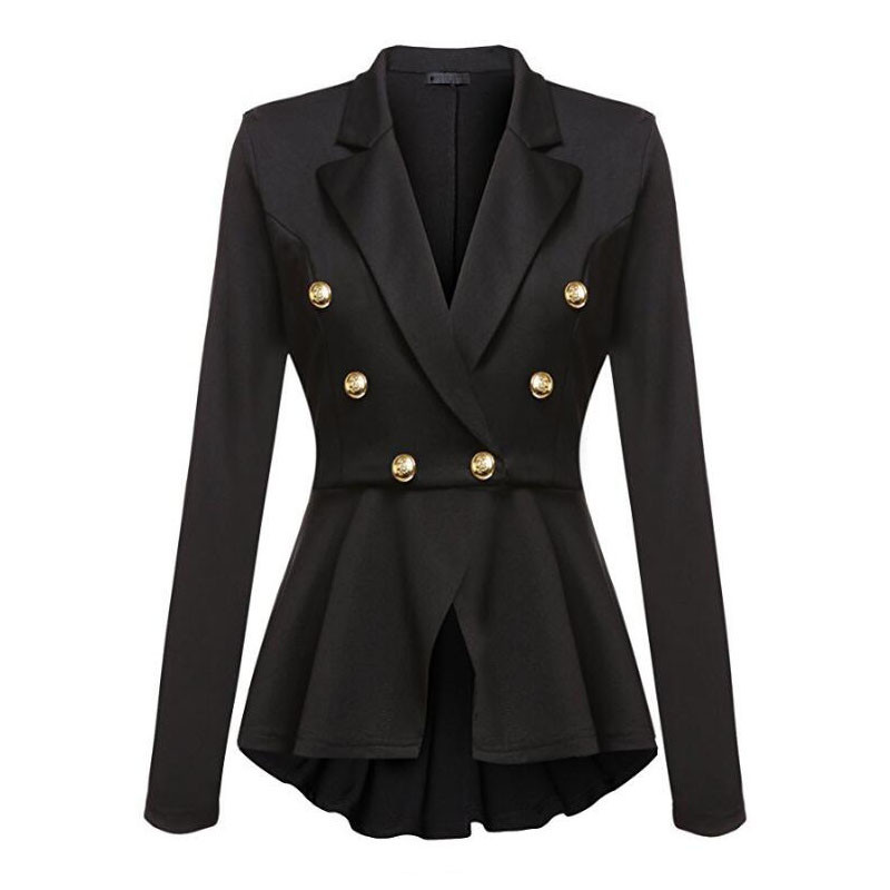 Fashion Brand Blazers Coat Black Red Women Slim Elegant Jacket Female Work Wear Casaco Feminino Woman Clothes Office Clothing