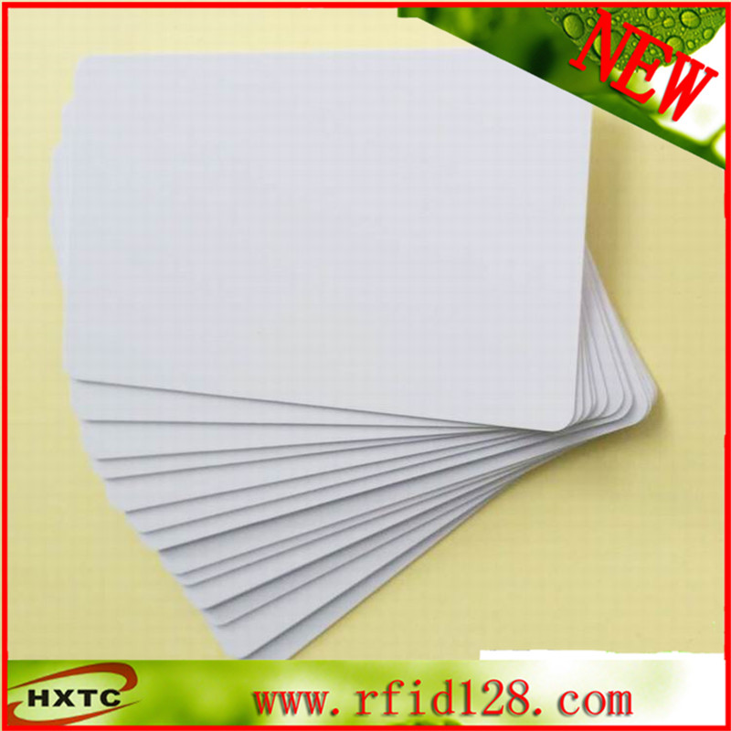 50PCS/LOT ISO14443A RFID Smart CARD Tag 1k NTAG215 Chip for Access Control 100pcs lot printable pvc blank white card no chip for epson canon inkjet printer suitbale portrait member pos system