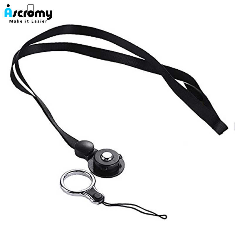 Ascromy Detachable Neck Strap Necklace Long Lanyard String Holder For Cell Phone Case Camera USB Flash Drive Keys ID Card Badge