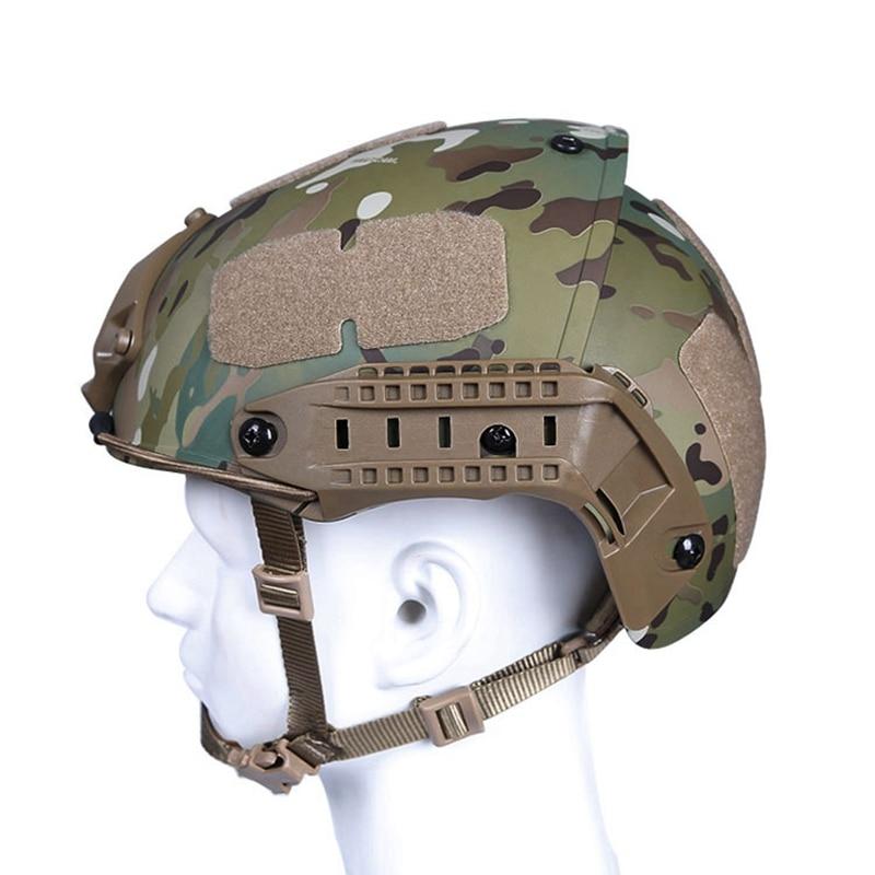 Tactical Multicam Helmet Head Protect Airsoft Paintball Wargame Tactical Helmet 52-64cmTactical Multicam Helmet Head Protect Airsoft Paintball Wargame Tactical Helmet 52-64cm
