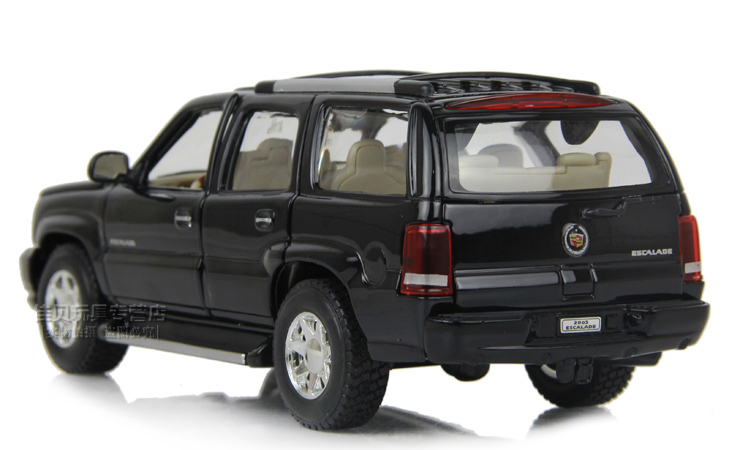 Free Shipping Welly Cadillac Escalade Scale 1 24 Black Off Road