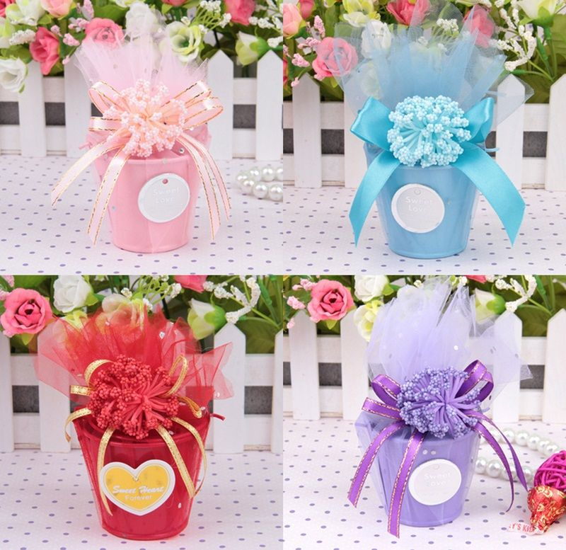Popular mini pails wedding favors buy cheap mini pails for How to decorate a bucket