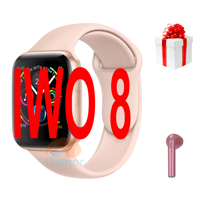 IWO 8 Smart Watch 44mm Series 4 Bluetooth Heart Rate Monitor Smartwatch for Men Women Gifts