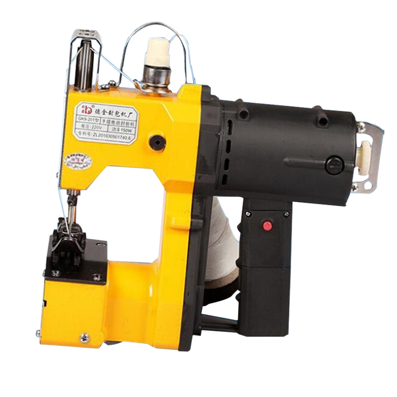 1PCS GK9-201 Portable electric sealing/packet machine Sewing Sealer Packer,woven/gunny bag capper,sack closer 1pc 220v gk9 201 packet machine gunny bag sealing machine automatic portable sealing machine