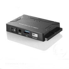 2,5 дюймов 3,5 дюймов USB 3,0 на SATA IDE Внешний жесткий диск HDD адаптер конвертер для ноутбука настольный жесткий диск высокая Скорость