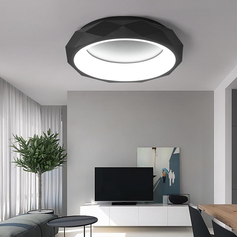 Moderno LED Acrilico luci di soffitto Infissi bambini camera da soffitto lampade Creativo Nordic Ferro Novità Rotonda illuminazione A Soffitto