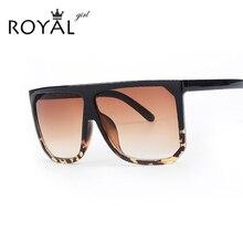 Royal girl new designer de moda da marca mulheres óculos de sol oversize feminino flat top óculos de sol do vintage óculos de sol oculos de sol ss568(China (Mainland))