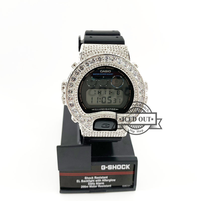 359377a2314b Detail Feedback Questions about micro pave lab diamond iced out watch bezel  for G shock DW6900 on Aliexpress.com | alibaba group