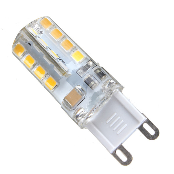 Купить с кэшбэком G9 led Bulb Dimmable Light SMD2835 Lamparas LED AC110V  220V 4W Chandelier Candle lamp Replace 40W halogen light 360 Degree