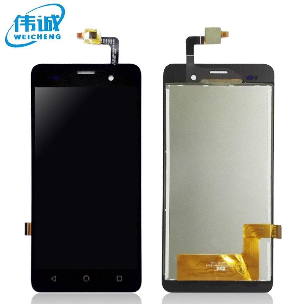 imágenes para 100% Probado bien Para Wiko jerry LCD Display + Touch Screen Asamblea del digitizador del sensor