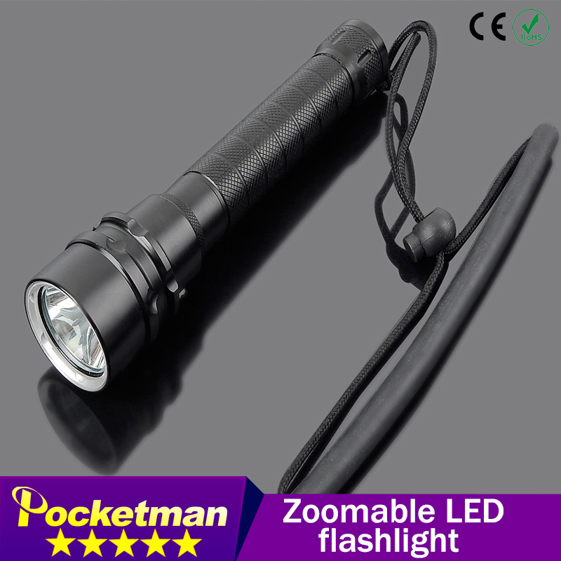 LED flashlight 3800 Lumens Cree XM-L2x3 Waterproof Flashlight Torch For Night Diving Camping Hunting Fishing ZK50 3800 lumens cree xm l t6 5 modes led tactical flashlight torch waterproof lamp torch hunting flash light lantern for camping z93