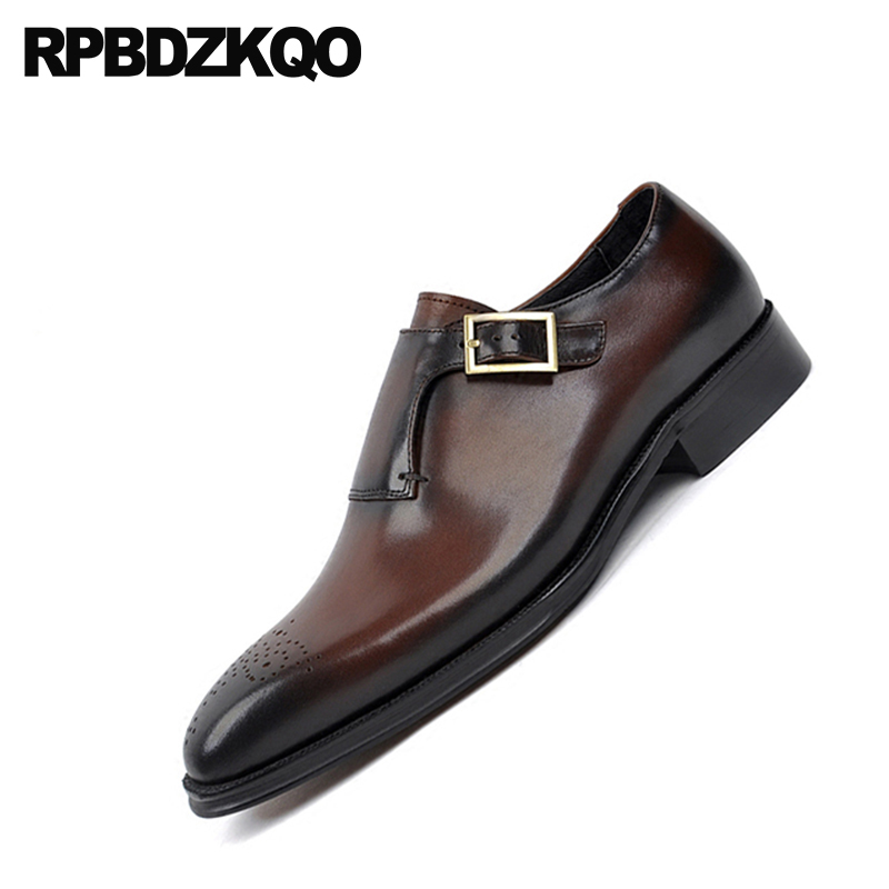Shoes Runway Pointed Toe Brand Business Italy Black Genuine Leather Real Oxfords Snake Skin European Men Dress Italian Shoes Formal