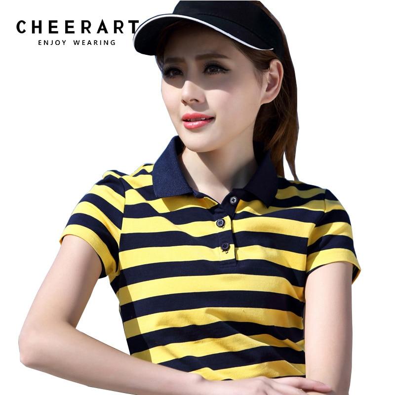 بالاضافة الى حجم M-4XL 100 ٪ قطن قميص بولو - ملابس نسائية