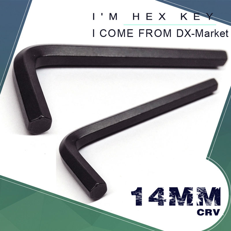 14mm Hex Key , Black Metric Alloy Hex Key Socket , Bolt Driver Allen Wrench M14 Hand Tool , Chinese Manufactuer