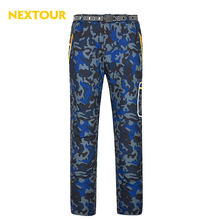 NEXTOUR outdoor pants Men Winter Camo Softshell Pants Thermal windproof Trouers with fleece Waterproof Hunting Hiking ski