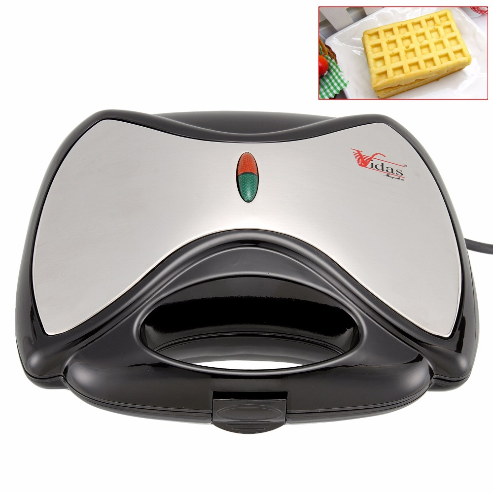 цена Multifunction Electric Waffle Maker Household Non-stick Metal Plates For Sandwich Removable Easy Clean Breakfast Machine онлайн в 2017 году