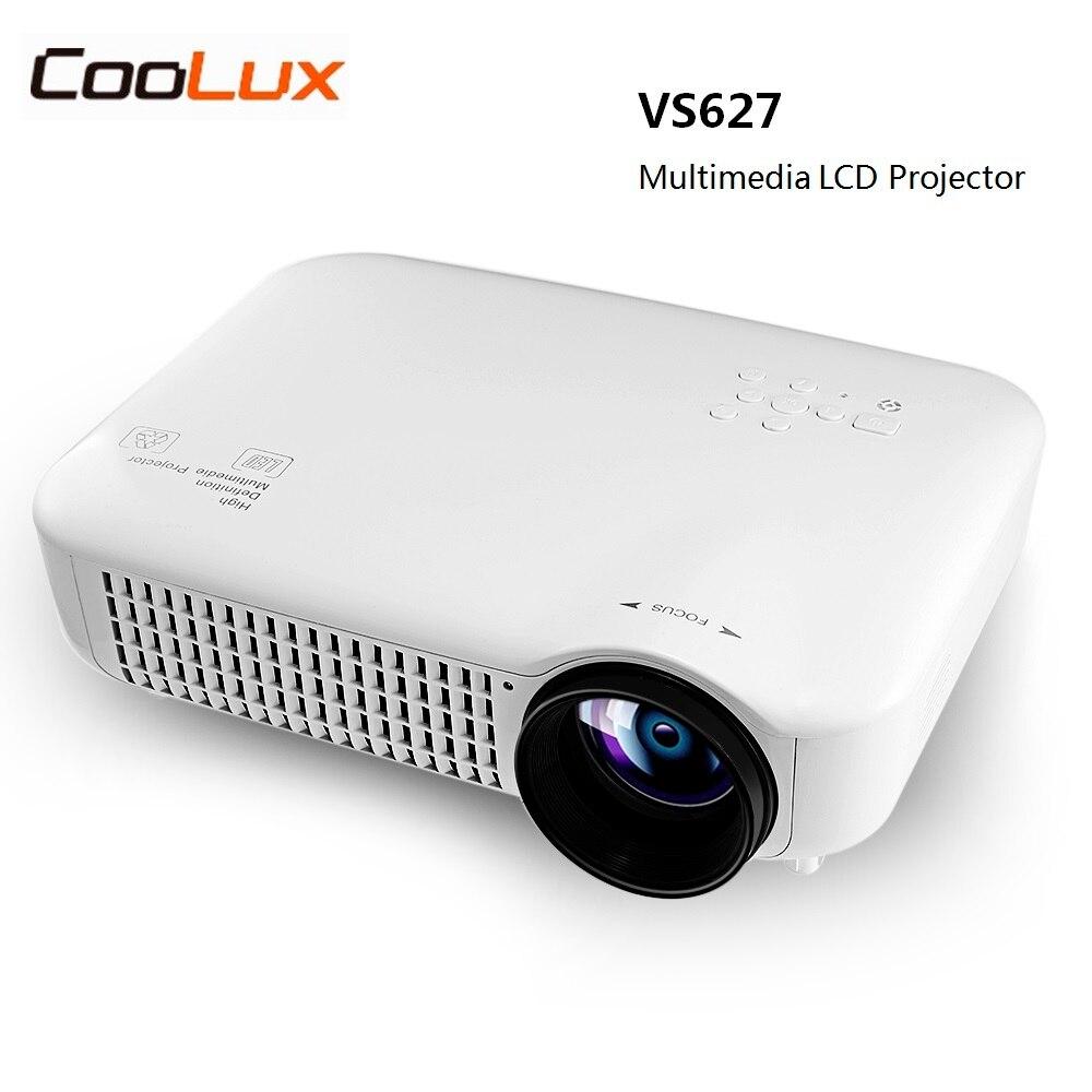 Coolux VS627 LCD Projecteur 3000 LM 1280x800 Pixels soutien 1080 P pour Home Cinéma Meilleur Home Cinéma Proyector Eye Protection