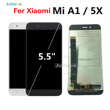 High Quality For Xiaomi Mi A1 LCD Display Touch Screen Digitizer Assembly  Screen Glass Panel For Xiaomi MiA1 Mi5X Mi 5X lcd lcd display screen touch screen panel digitizer assembly for xiaomi mi2 m2 mi 2