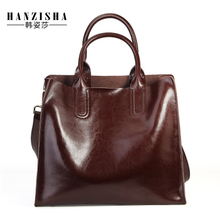 df1cdbdf5a6 Genuine Leather Women Handbag High Quality Bags For Women 2018 Women  Messenger Bag Fashion Brand Lady
