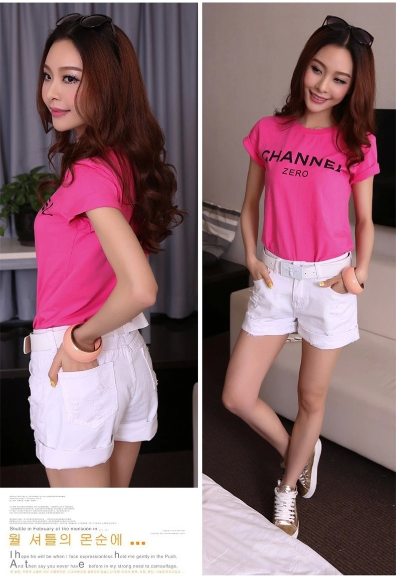 Новое поступление, летние популярные повседневные винтажные джинсовые шорты для женщин, белые, розовые, черные, большие размеры, хлопковые шорты свободного кроя, джинсы S3215