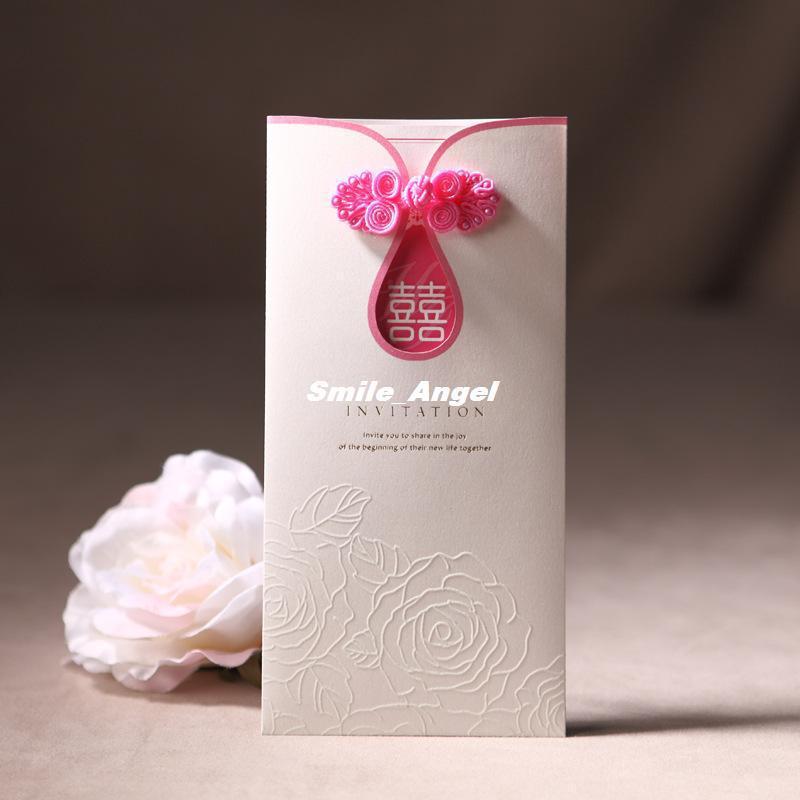 Wholesale Wedding Invitations 2014 New Cheongsam Design Free