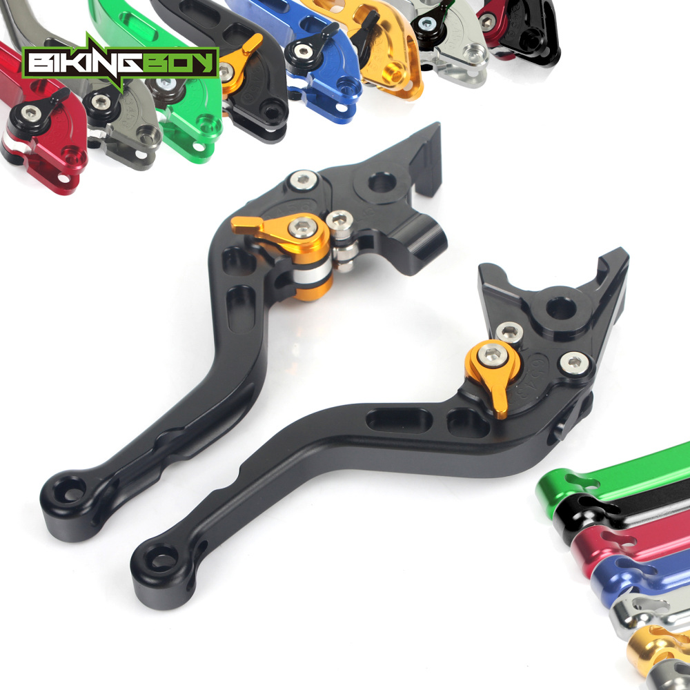 BIKINGBOY for Honda CBR900RR Fireblade 2000 2001 CBR 900 RR Short Straight Brake Clutch Levers 6