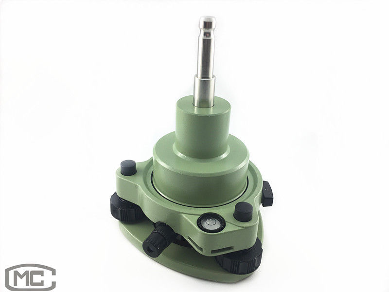 NEW GREEN THREE JAW TRIBRACH WITH OPTICAL PLUMMET ADAPTER FOR LEI CA PRISM SET