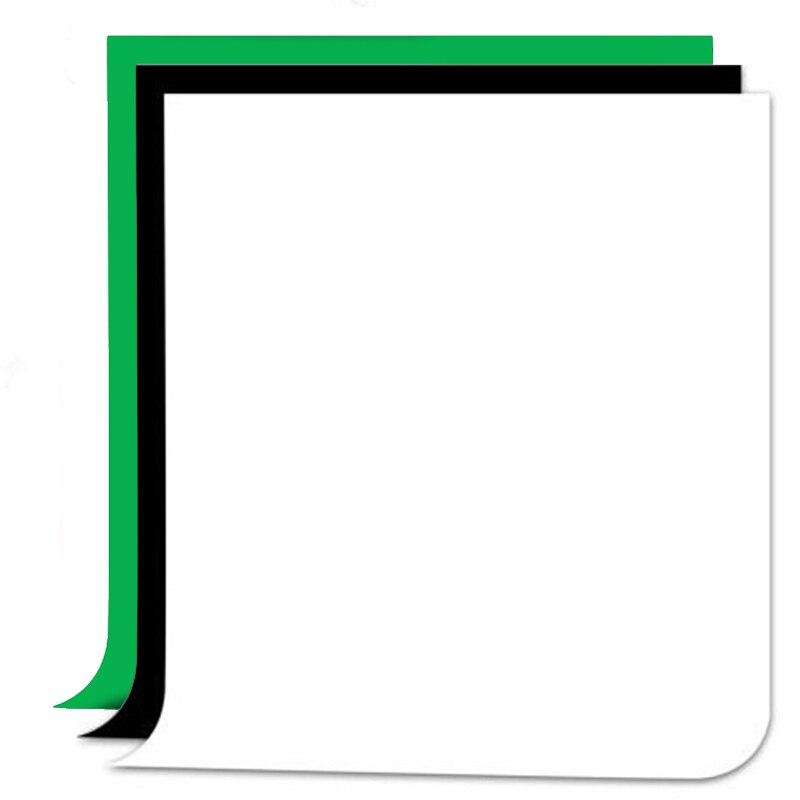 Fotografia Photo Background Black White Green Screen Non-woven Fabrics Set Photography Studio Backgrounds Backdrops Kits 10 x 5ft photography background non woven fabrics backdrops
