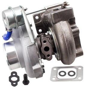 Image 3 - Универсальный GT2871 T28 400 + HP турбо Турбокомпрессор подходит 240SX S13/S14 SR20/CA18 0,6 A/R 0,64 A/R 5 болт фланца