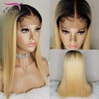 150% Плотность 13x6 Синтетические волосы на кружеве человеческих волос парики с ребенком волосы бразильские волосы девственницы бесклеевой пр