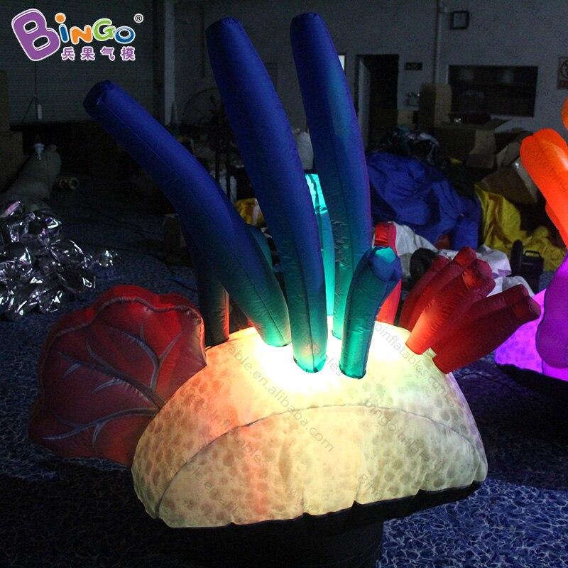 Événement thème sous-marin du monde-illuminez le beau ballon gonflable d'algues pour la décoration-jouet gonflable