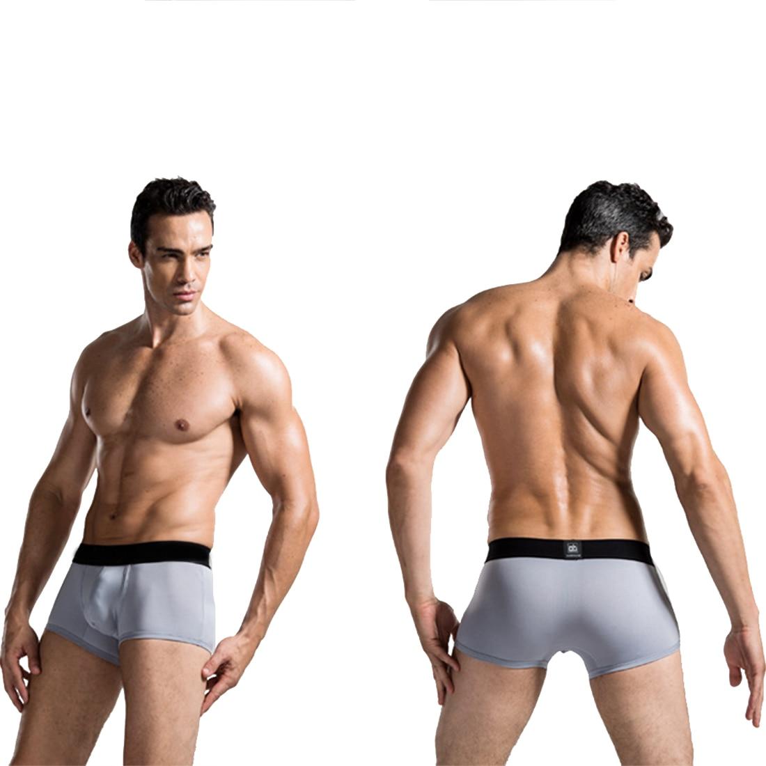 Hot Boxer Shorts Men Comfortable Underwear Hot Men Soft male Underwear Boxer Homme Underpants U Convex Pocket Boxer 2019