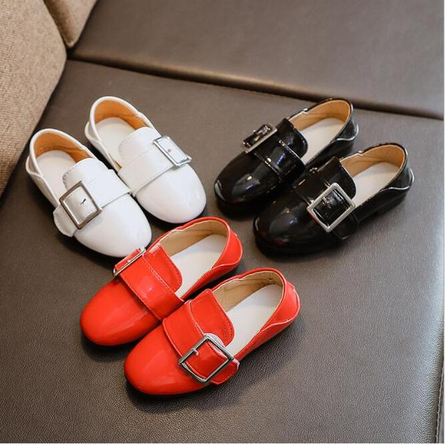 0d627893943 New Kids Leather Wedding Dress Shoes For Boys Brand Children Black Wedding  Shoes Girls Formal Wedge Sneakers