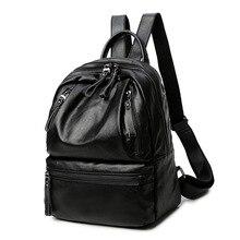 Женские Натуральная кожа рюкзаки бренда Дамская мода рюкзаки для подростков девочек школьные сумки из натуральной кожи дорожные сумки Новый C253