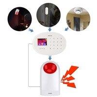 Secrui J008 Wireless Strobe Siren Audible Visual Alarm Flash Horn Flash Light For Home Business Alarm Security