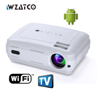 Newest Android 5 1 Smart WIFI Airplay Miracast Bluetooth HD LED Projector 5000lumens TV Projetor Proyector